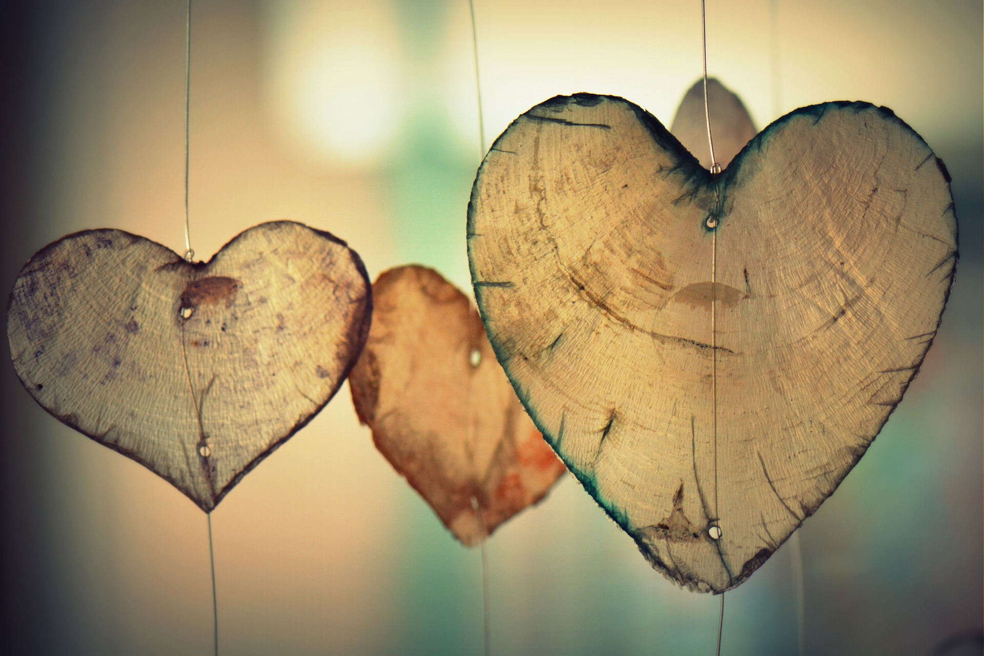 hearts swinging